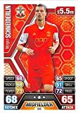 Match Attax 2013/2014 - Southampton F.C- #245 Morgan Schneiderlin Base Card
