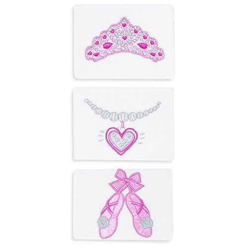 Baby Essentials Bling 3 Pack Burps