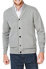 Blue Harbour Pure Cotton Shawl Collar Cardigan [T30-5209B-S]