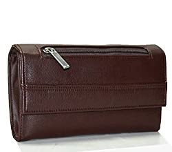 Utsukushii Women's Clutches(Coffee Brown) (BG512C)