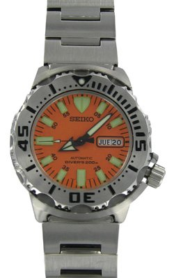 Seiko Men's SKX781 &quot;Orange Monster&quot; Automatic Dive Watch