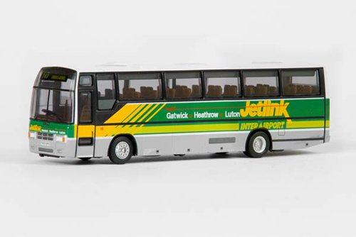 diecast-model-plaxton-paramount-3500-jetlink-in-green-and-white