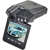 "New 2.5"" HD Car LED IR Vehicle DVR Road Dash Video Camera Recorder Traffic Dashboard Camcorder - LCD 270° whirl 6 LED Recorder Camera"