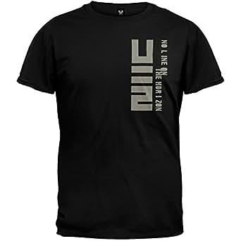 U2 - Mens Horizon Soft T-shirt Small Black
