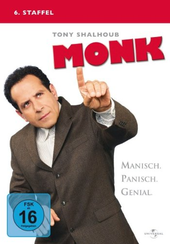 Monk - 6. Staffel [4 DVDs]