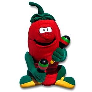 "Amazon.com: Chili Pepe Animated Singing Pepper Sings ""Hot Hot Hot"