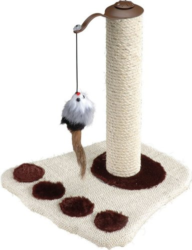 Crazy Pet, Kitty's Palace Cat Tree with Toy Mouse, Size: 14.25″ x 14.25″