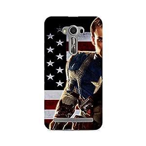 Ebby Cute Captain Premium Printed Case For Asus Zenfone Selfie