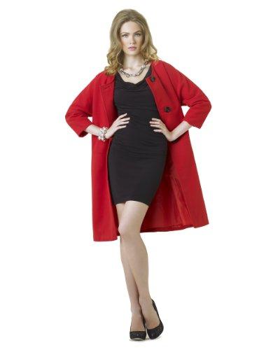 Oversized Retro-Style Coat by Spiegel