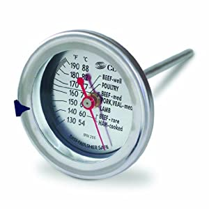 CDN IRM200 InstaRead Extra Large Dial Meat & Poultry Thermometer by Component Design