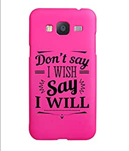 KolorEdge Back Cover For Samsung Galaxy J3 - Pink (5839-Ke15179SamJ3Pink3D)