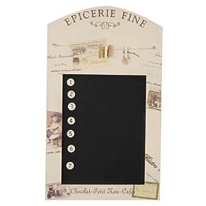 tafel memoboard magnettafel vintage k che. Black Bedroom Furniture Sets. Home Design Ideas