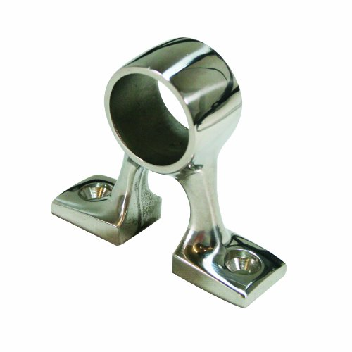 SeaSense Stainless Steel 316 Center Rail Fitting for 1-Inch 90-Degree Rail