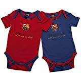 FC Barcelona Authentic La Liga 2 Pack Baby Bodysuits (3-6 months)