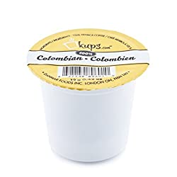 The Original Single Serve Coffee, Keurig K-cups, 72 Count (100% Colombian) by Danmar Supplies Inc