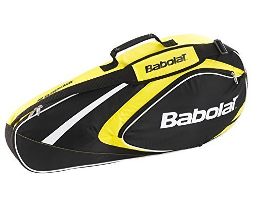 Babolat racchetta tasche Racket Holder X3 Club Line, Schlägertaschen Racket Holder X3 Club Line, giallo