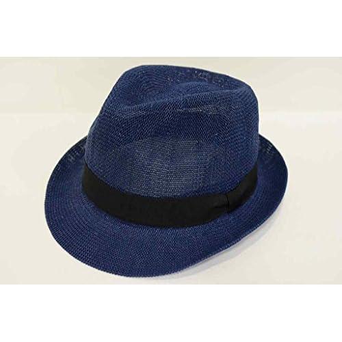 (カスターノ)CASTANO チロル 帽子 ハット 男女兼用 メンズ レディース 132059 サーモメッシュ 軽量 日除け 紫外線対策 サイズ調節 春夏 (ネイビー)