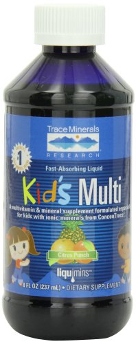 Trace Minerals Kids Multi-Vitamin/Mineral Supplement
