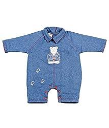 Tillu Pillu Unisex Body Suit (KDC_43_Blue_3-6 Months)