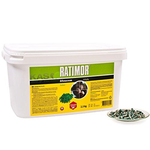 ratimor rattenk der 2 5kg pellets. Black Bedroom Furniture Sets. Home Design Ideas