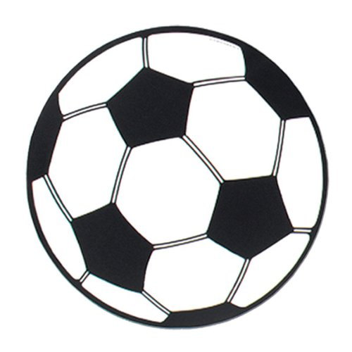 Soccer Ball Cutout Party Accessory (1 count) - 1