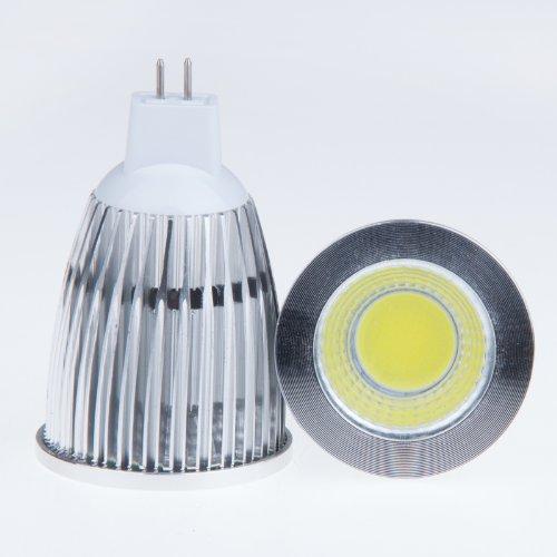 Lemonbest® Super Bright 12W Mr16 Cob Led Downlight Cool White 6500K Flood Lamp 60 Degree Beam Angle Led Bulb Light