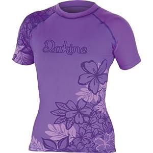 DAKINE Paradise Floral Rash Guard - Short-Sleeve - Women's Lavender, S