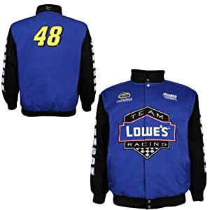 Jimmie Johnson Chase Authentics Spring Lowes Big Number Jacket by RacingGifts