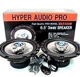 HYPER AUDIO PRO 3WAY 16cmスピーカー MAX480W プロ仕様