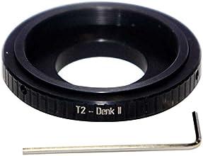 T2 thread to Denk II telescope binoviewer adapter adjustable