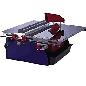 - Northern Industrial Wet Tile Saw - 7in. Blade Size