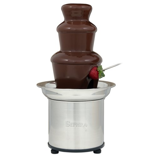 Best Review Of The Sephra 16-Inch Stainless Steel 4-Pound Capactiy Select Home Fondue Fountain