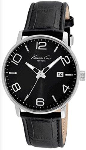 wristwatch-kenneth-cole-new-york-orologio-sportivo-da-uomo-s-s-colore-nero-cinturino-data-3-atm-kc80