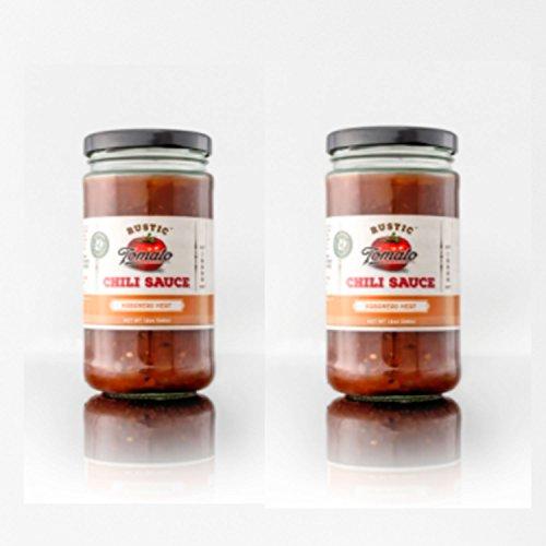 [Rustic Tomato Homemade 100% Natural Chili Sauce - 12 oz (Habanero Heat, 2-pack)] (Kikkoman Sauce Costume)