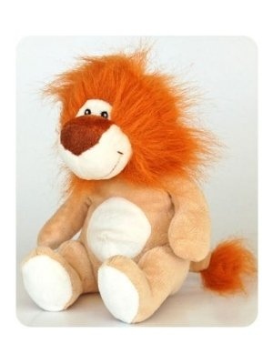 Dog Squeak Toy Lion 7″ Plush Dog Toy