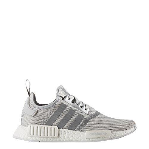 Adidas Womens NMD_R1 Silver/White - S76004 (Size 7.5)
