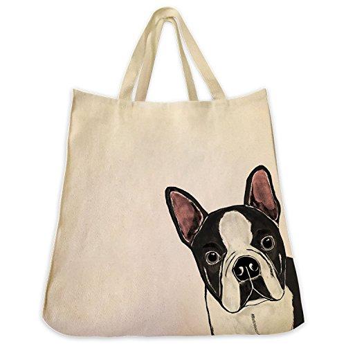 boston-terrier-dog-extra-large-eco-friendly-reusable-cotton-canvas-twill-shopping-handbag-tote-bag