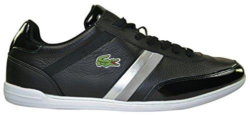 Lacoste, Scarpe da barca uomo Nero Black/Grey, Nero (Black/Grey), 46
