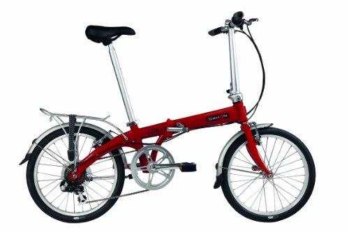 Dahon Eco C7 Folding Bike, Brick