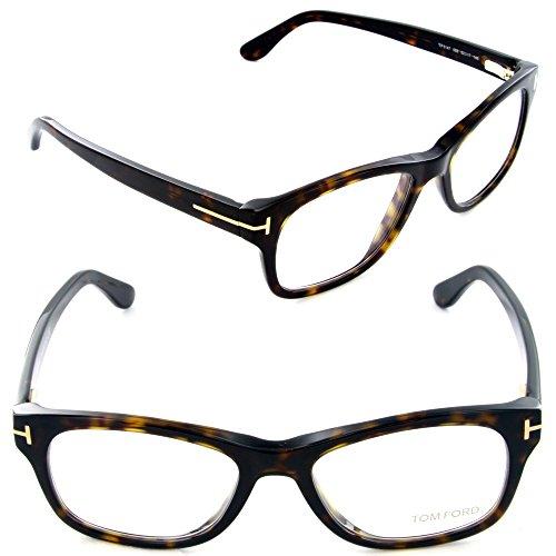 Tom Ford FT5147 Eyeglasses-052 Dark Havana-52mm (Tom Ford Glasses For Men compare prices)