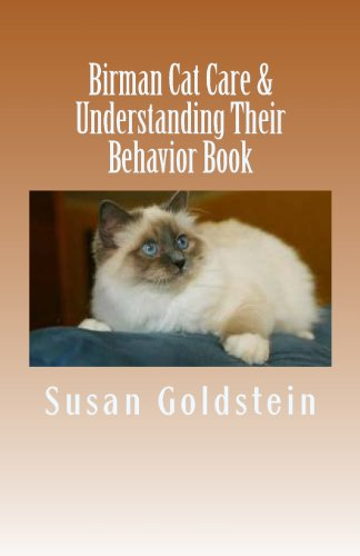 Birman Cat Care & Understanding Their Behavior Book