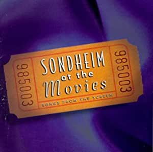 Sondheim At The Movies: Songs From The Screen (Studio Cast Re-recordings)