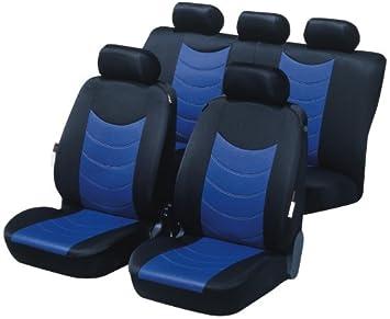 Dacia Logan MCV Baumwoll Universell Sitzbezüge SHIRT Antrazitgrau Schonbezüg