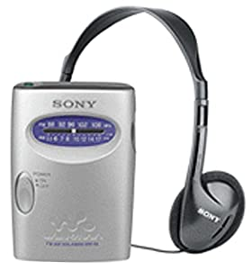 Sony SRF59SILVER AM/FM Walkman Stereo Radio