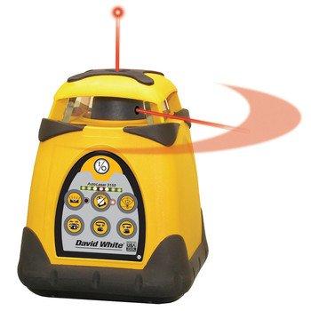 David White 48-3150 Horizontal/Vertical Visible Split-Beam Electronic Rotary Laser