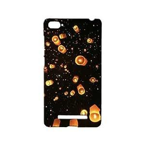 BLUEDIO Designer 3D Printed Back case cover for Xiaomi Mi4i / Xiaomi Mi 4i - G5958