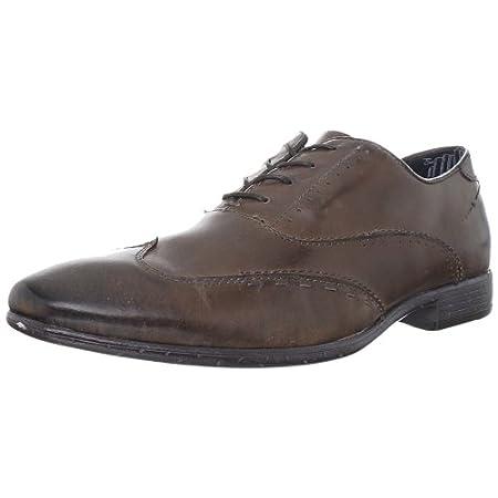 John Lennon Men's 复古牛津皮鞋