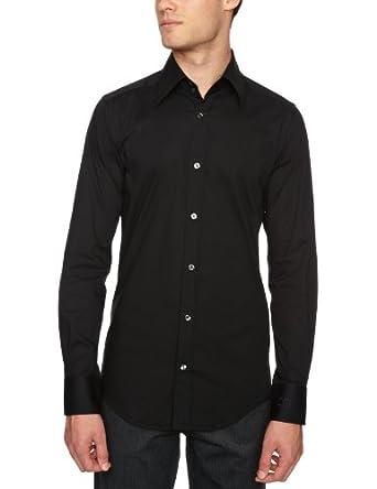 D&G  Slim Fit Shirt Black 16 R