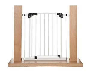 Impag® Puerta-rejillas de seguridad 73 - 142 cm para enganchar sin taladrar Swing marca Impag GmbH - BebeHogar.com
