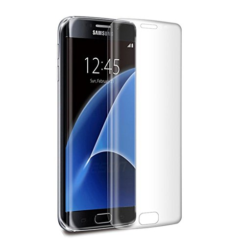 Galaxy S7 Edge Screen Protector,[Sensitivity Maintain] JRG Full Converage Curved Screen Tempered Glass Protector for Samsung Galaxy S7 Edge, Anti-Scratch and No Bubble,Crystal Clear